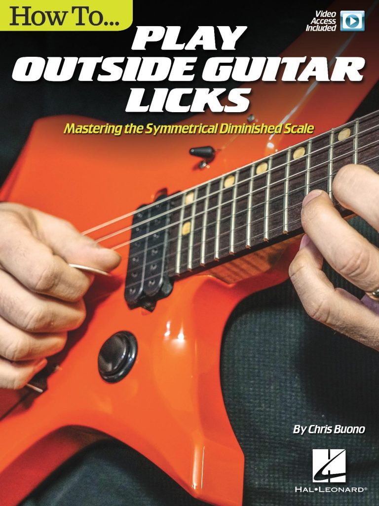 How To Play Outside Guitar Licks [Hal Leonard]